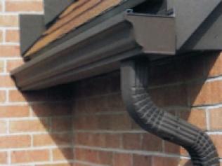 6-inch gutters