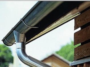 Galvanized Metal Gutters